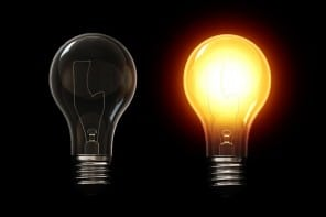 A light bulb can you a genius - image for article by Greg Alder
