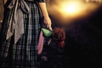 Kafka and the doll - image for article by Greg Alder